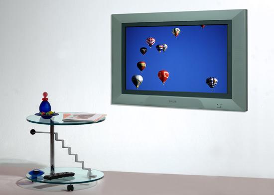 philips feiert 10 jahre flat tvs. Black Bedroom Furniture Sets. Home Design Ideas
