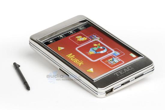 teac zwei neue mp3 player mit dvb t und touch screen. Black Bedroom Furniture Sets. Home Design Ideas