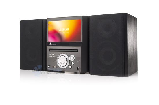 Lexxum neue heimkinoanlage lexx h105 mit integriertem 7 zoll display - Audio anlage wohnzimmer ...