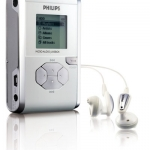 Neue Festplatten-MP3-Player von Philips