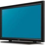 Plasma-TV mit 1,55 Metern Bilddiagonale