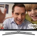 Fernseher mit Skype: Samsung Serie 7000 und 8000
