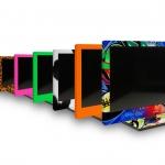 Sharp LCD-TVs schick mit YOUNiiK