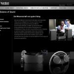 Harman Kardon enthüllt die Website Science of Sound
