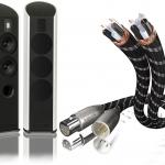 in-akustik Referenz-Kabel / Piega-Lautsprecher