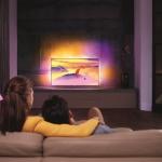 Philips Fernseher verschönern moderne Wohnumgebungen