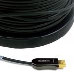 in-akustik Profi HDMI 2.0 LWL Blitzschnelle Lichtwellenleiter