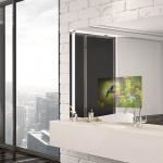 High Tech Spiegelfernseher für Badezimmer und Wellness-Bereiche