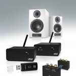"""Nubert nuFunk """"Wireless""""-Tonübertragung auch für digital zugespielte Musikdaten"""