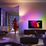 Philips: der erste OLED 4K-TV mit Ambilight!