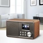 Albrecht Internetradio DR 471: Das kompakte Klangwunder im modernen Retro-Holzgewand