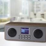Stereo-Digitalradio Albrecht DR 880 in edlem Holzgehäuse