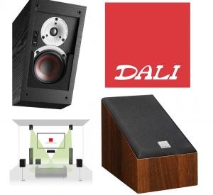 DALI ALTECO: Universal-Lautsprecher für Dolby Atmos-Höhenkanäle, Heimkino-Surroundsignale und Stereo