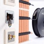 in-akustik Profi HDMI-Micro 2.0 LWL Blitzschnelle Lichtwellenleiterkabel für 4K-Video-Formate
