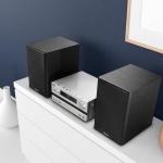 Kenwood: Kompaktes Stereosystem M-918DAB mit Digitalradio-Empfänger und Bluetooth Audio-Streaming