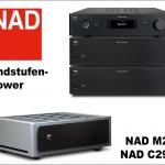 NAD: Extrem leistungsstarke Endstufen M28 und C298 mit Purifi EigentaktTM Technologie