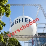 Verlegung der High End von September 2021 auf Mai 2022
