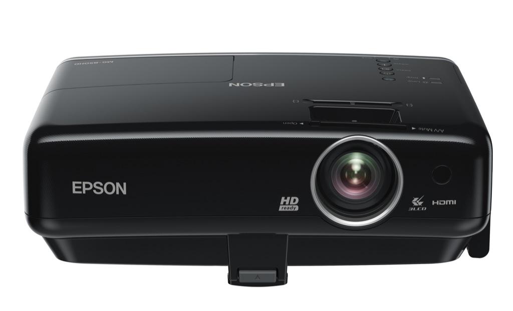epson projektor mit iphone dockingstation. Black Bedroom Furniture Sets. Home Design Ideas