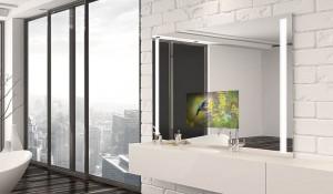 » High Tech Spiegelfernseher für Badezimmer und Wellness ...